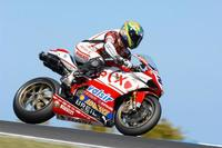 Troy Bayliss logra la Superpole en su país