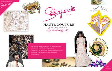 La web de Schiaparelli, una guía imprescindible para conocer y comprender el mundo de la Haute Couture