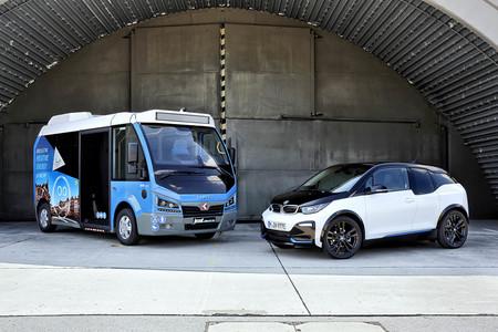 Este minibus eléctrico es el enésimo vehículo en usar el motor y las baterías del BMW i3 para moverse