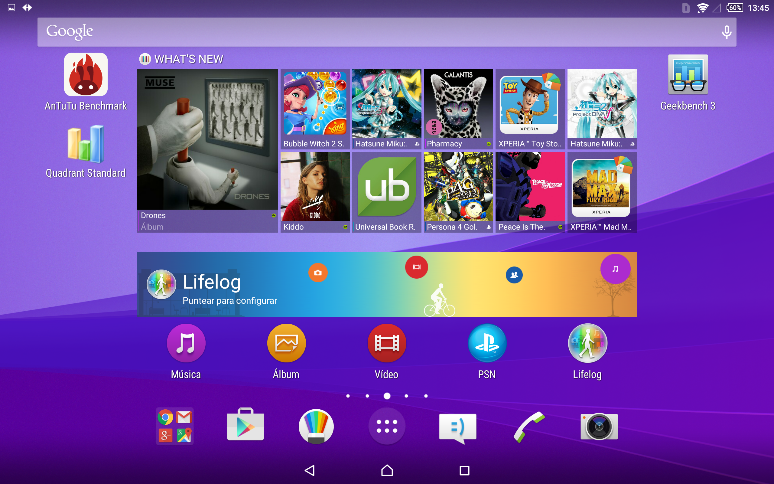 Foto de Software Sony Xperia Z4 Tablet (2/10)