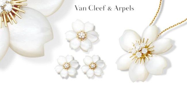 Rose de Noel de Van Cleef and Arpels