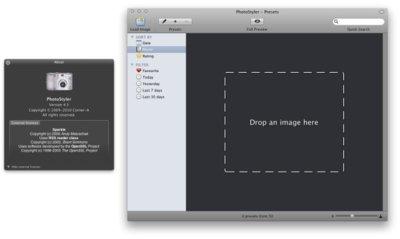 Photostyler, para retocar fotografías fácilmente en Mac OS X