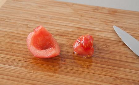 Quitar Semillas Tomate Concasse