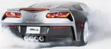 Chevrolet Corvette C7 trasera portada Automobile