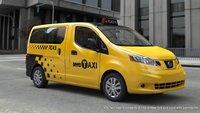 Nissan NV200, habemus nuevos taxis para Nueva York
