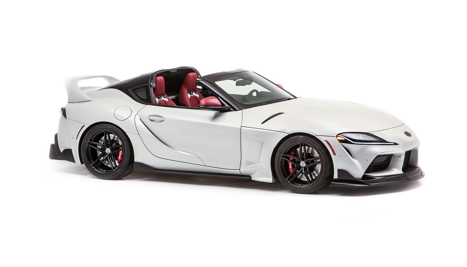 Foto de Toyota GR Supra Sport Top 2021 concept (1/10)
