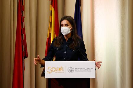 Doña Letizia recuerda su época de estudiante en un discurso donde no han faltado las anécdotas y el buen sentido del humor