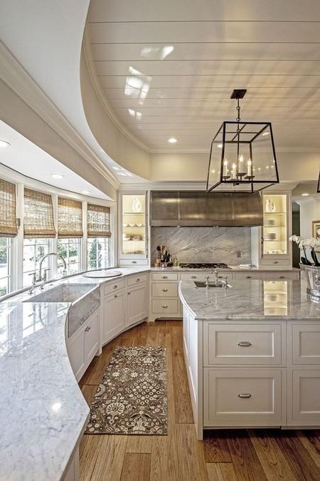 Si necesitabas ideas para remodelar tu cocina abierta hoy for Barras e islas para cocinas