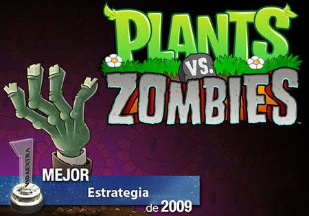 Mejor juego de Estrategia de 2009 en VidaExtra: 'Plants vs. Zombies'