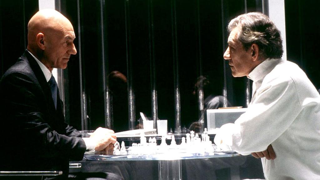 Patrick Stewart Professor X Ian Mckellen Magneto X Men Chess