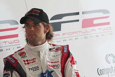 Andy Soucek se acerca al segundo asiento de Manor GP