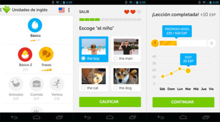 Duolingo 2.0 pour Android
