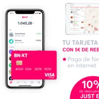 10% de descuento en Just Eat y 5 euros de reembolso pagando con tu tarjeta Bnext