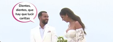Derrochando pantosensualidad hasta en el día de su boda: todos los detalles del enlace de Anabel Pantoja y Omar 'El Negro' en La Graciosa