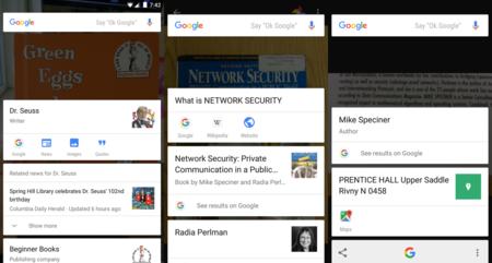 Google Now on Tap, ahora con características OCR