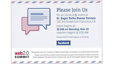 Facebook convoca a la prensa para otro evento, esta vez enfocado a los mensajes
