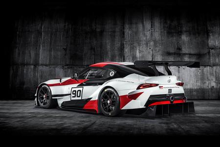 Gr Supra Racing Concept Toyota Supra Salón de Ginebra motor 6 cilindros