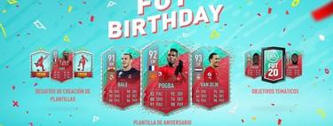 Guía FIFA 20. FUT BIRTHDAY 2: todas las cartas de la Plantilla de aniversario FUT 2 y cómo resolver los desafíos temáticos