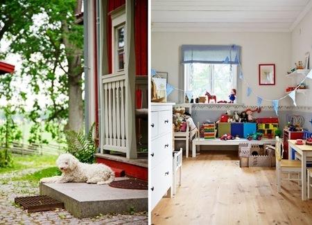 desde mi ventana casa roja suecia