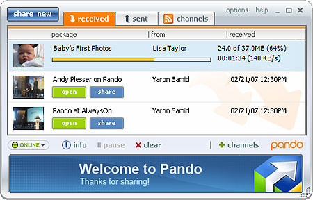 Adiós a Pando, el conocido servicio de envío de archivos