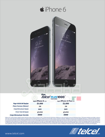 Iphone 6 Oferta Telcel