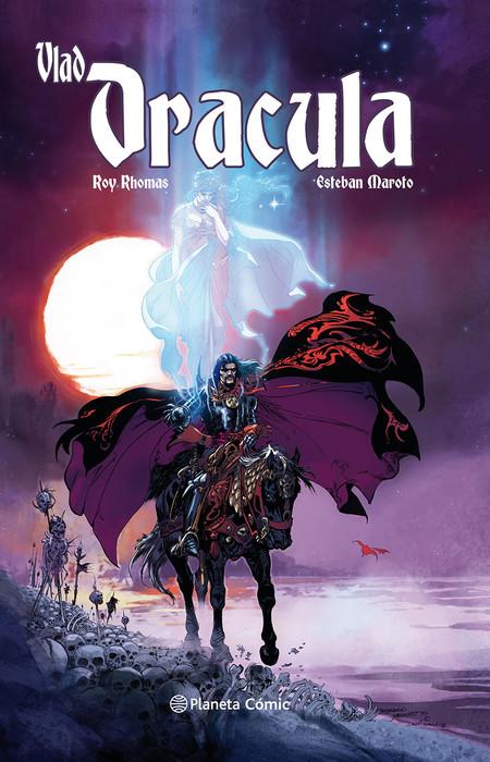 Portada Vlad Dracula Roy Thomas