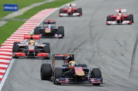 GP de Malasia 2010: Jaime Alguersuari conquista sus primeros puntos y a todo el paddock en Sepang