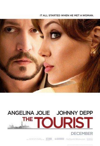 'The Tourist' con Angelina Jolie y Johnny Depp, cartel