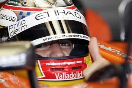 Spyker anuncia el fichaje de Roldán Rodríguez