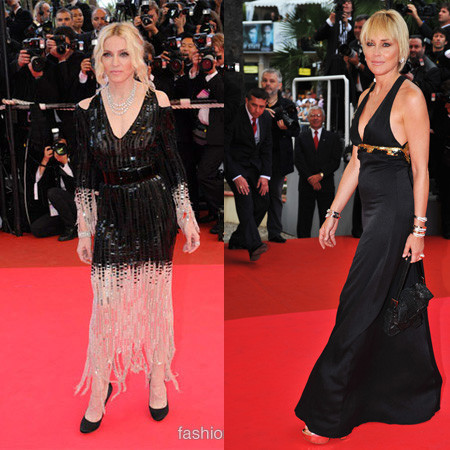 Alfombra roja en Cannes. Premieres I am because we are y Che