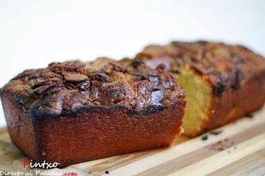 Cake con nutella. Receta
