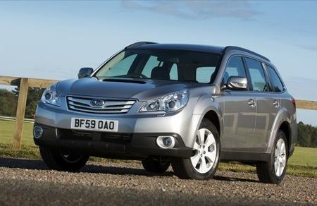 Subaru Outback 2.5 GLP para el Salón de Madrid