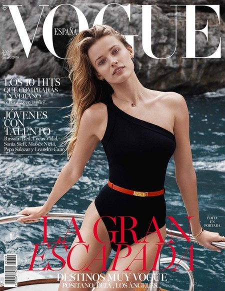 Vogue España:  Edita Vilkeviciute