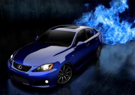 Sitio web del Lexus IS-F y galería de fotos oficiales