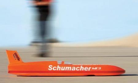 El coche teledirigido más rápido del mundo: 259 Km/h!