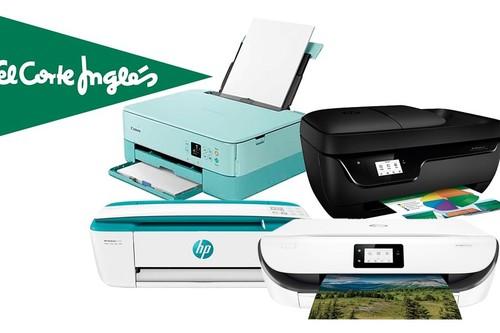 ¿Aún sin impresora? Esta semana, en El Corte Inglés puedes encontrar 11 interesantes modelos de HP y Epson a precios rebajados con envío gratis y recogida Click&Collect&Car