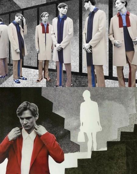 Moda para hombres: con Prada jugamos a trazar rayas