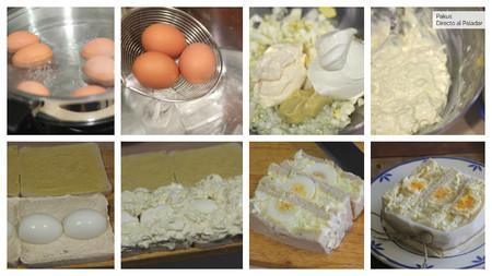 Sandwiches Huevos Pasos