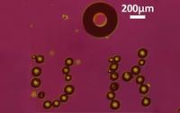 Burbujas que funcionan como microrobots