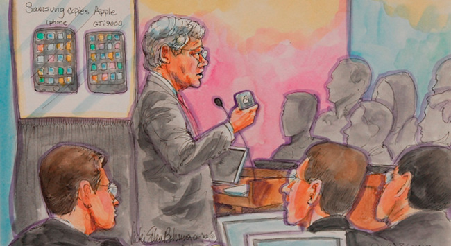 Juicio de Apple contra Samsung