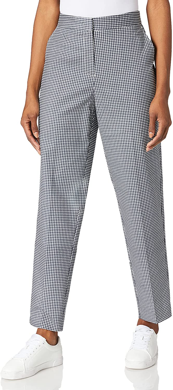 Tommy Hilfiger Slub Co Slim Ankle Pant Pantalones para Mujer