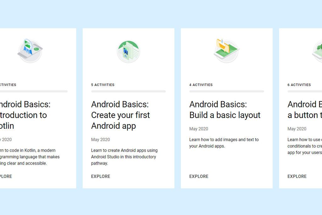 Google lanza un mas reciente desarrollo gratis para instruirse a planificar apps Android-OS desde cero