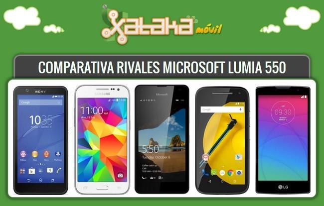 Rivales Lumia 550