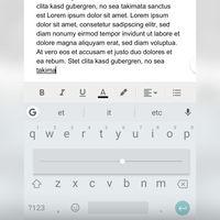 Borrar texto a distinta velocidad: el último test de Gboard