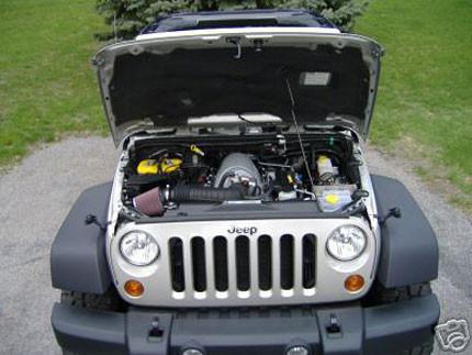 Jeep Wrangler Unlimited Rubicon SRT-8 HEMI 6.1