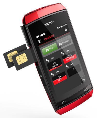 Nokia Asha 311, 306 y 305