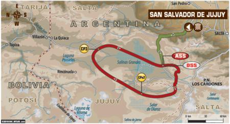 Mapa Etapa4 Dakar2016
