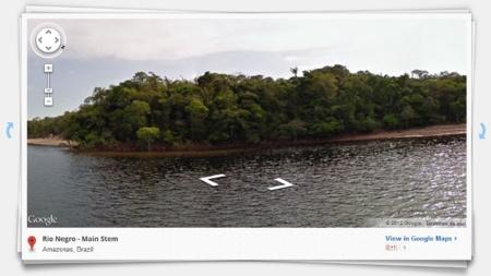 La imagen de la semana: Google Street View en el Amazonas