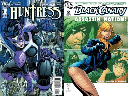 Huntress y Black Canary