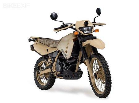 Hayes M1030, la moto del apocalipsis que funciona con cualquier combustible